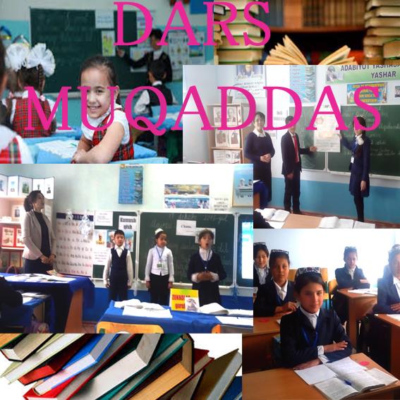 Maktabda 2-7-aprel kunlari o'tadigan «Dars muqaddas»  ko'rik tanloviga barcha pedagoglarni taklif etamiz
