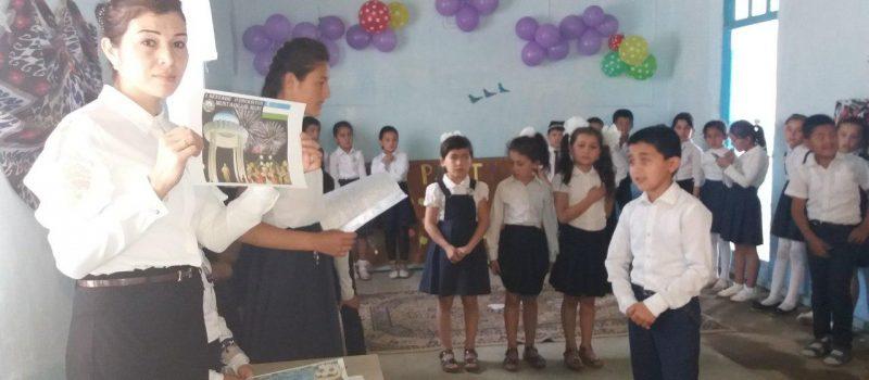 Ingliz tili fani o'qituvchilari Djumanova Elmira va To'xteyeva Dilnavozning»ABC party» nomli tadbiri.